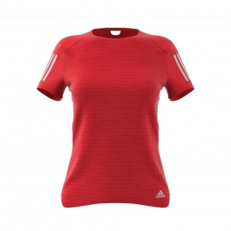 Adidas T-shirt Response Rosso Donna