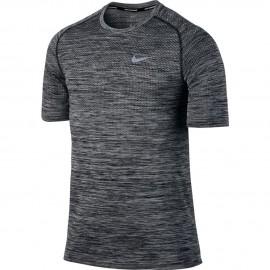 Nike T-shirt Mm Run Df Knit Black/Htr