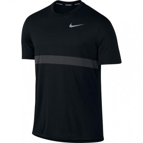 Nike T-shirt Mm Run Relay Anthracite