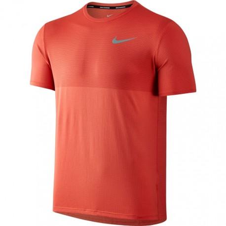 Nike T-shirt mm Run Znl Cl Relay Max Orange