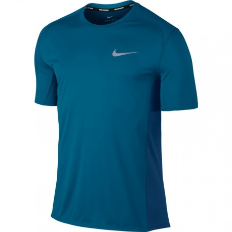 Nike T-shirt Mm Miler Run Blu