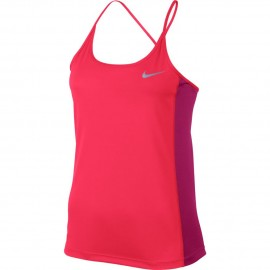 Nike Canotta Run Miler Racer Pink