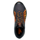 Brooks  Caldera  Anthracite/Red Orange