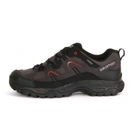 Salomon  Fortaleza Gtx  Asphalt/Black/Red