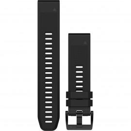 Garmin Cinturino Silicone Fenix 5 Nero