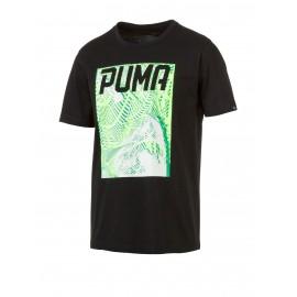 Puma T-Shirt Mm Fantasia Nero