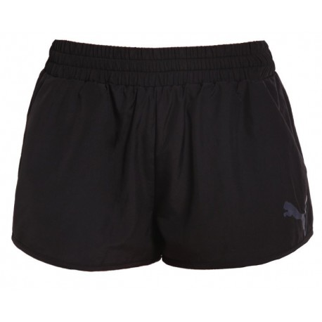 Puma Short Wowent Train Donna Nero