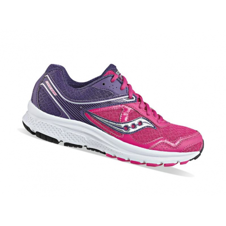 Saucony Cohesion 10 Red/Purple Donna