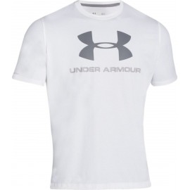 Under Armour T-shirt Mm Giro Logo White