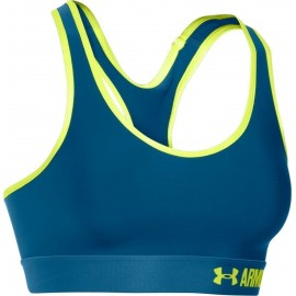 Under Armour Bra Mid Sup Train Donna Navy/Lime