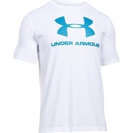 Under Armour T-shirt Mm Jy Logo Train Bianco