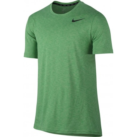Nike T-shirt Mm Hyper Dry Train Green/Blu