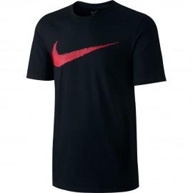 Nike T-shirt Mm Logo Swoosh Black