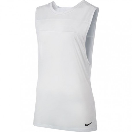Nike Smaniato Sleevless Donna White/Black