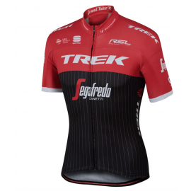 Sportful Maglia Trek-Segafredo Bodyfit Pro Team Black/Red/White