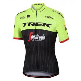 Sportful Maglia Trek-Segafredo Bodyfit Pro Team Black/Yellow Flu