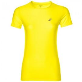 Asics T-shirt Mm Run Donna Yellow