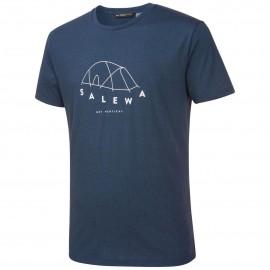 Salewa T-Shirt Fanes Tent Dri-Rel Dark Denim