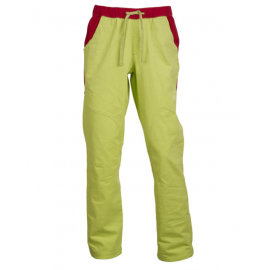 Rock Experience Pantalone Block Lime/Rosso
