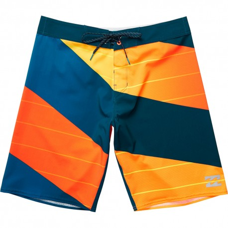 Billabong Boardshort Elasticizzato Bicolor Blu