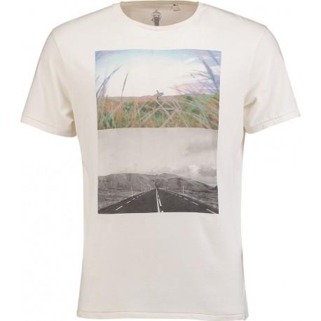 O'neill T-Shirt Stampa Surf Bianco