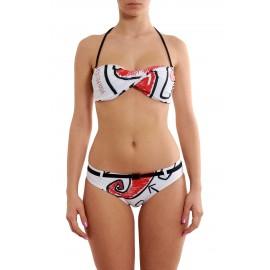 Scorpion Bay Bikini Disegno Cuore Bianco