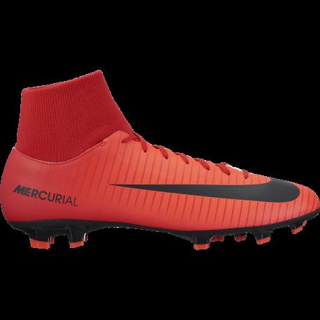 Nike Scarpa Mercurial Victory VI Df Fg Red/White