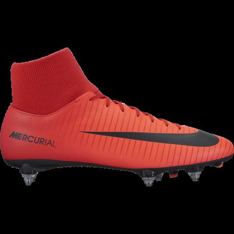 uk availability 25c4e 319c8 Calcio Nike Mercurial Victory VI Df Sg Red/White 903610-616 - Acqui...