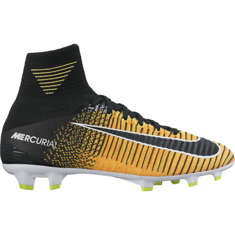 Nike Scarpa Jr Mercurial Superfly V Df Fg Giallo/Nero