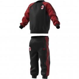 Adidas Tuta bambino Ac Milan By  Nero/Rosso