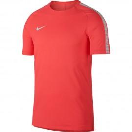 Nike T-Shirt Mm Brt Squad Top  Rosa/Bianco