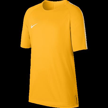Nike T-Shirt bambino Brt Sqd Top  Giallo/Bianco