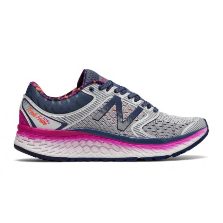 New Balance Scarpa Donna 1080v7 Artic Fox/Poisonberry