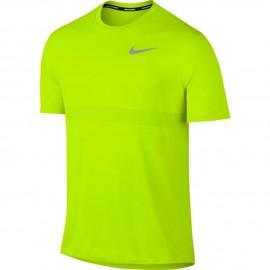 Nike T-Shirt Mm Rn Znl Cl Relay    Volt/Bright Cactus