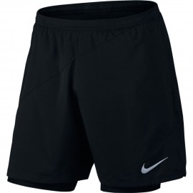 Nike Flx 2in1 7in Run Distance    Black