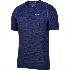 Nike T-Shirt Mm Run Df Knit    Purple Comet/Black