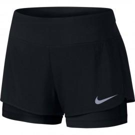 Nike 2in1 Short Donna  Run Flx Rival Black