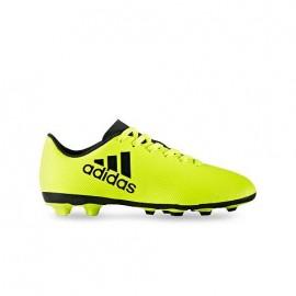 ADIDAS scarpa jr x 17.4 fxg giallo/nero
