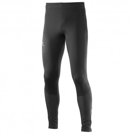 Salomon Agile Mid Tight Black Pantaloni Lunghi   Mud and