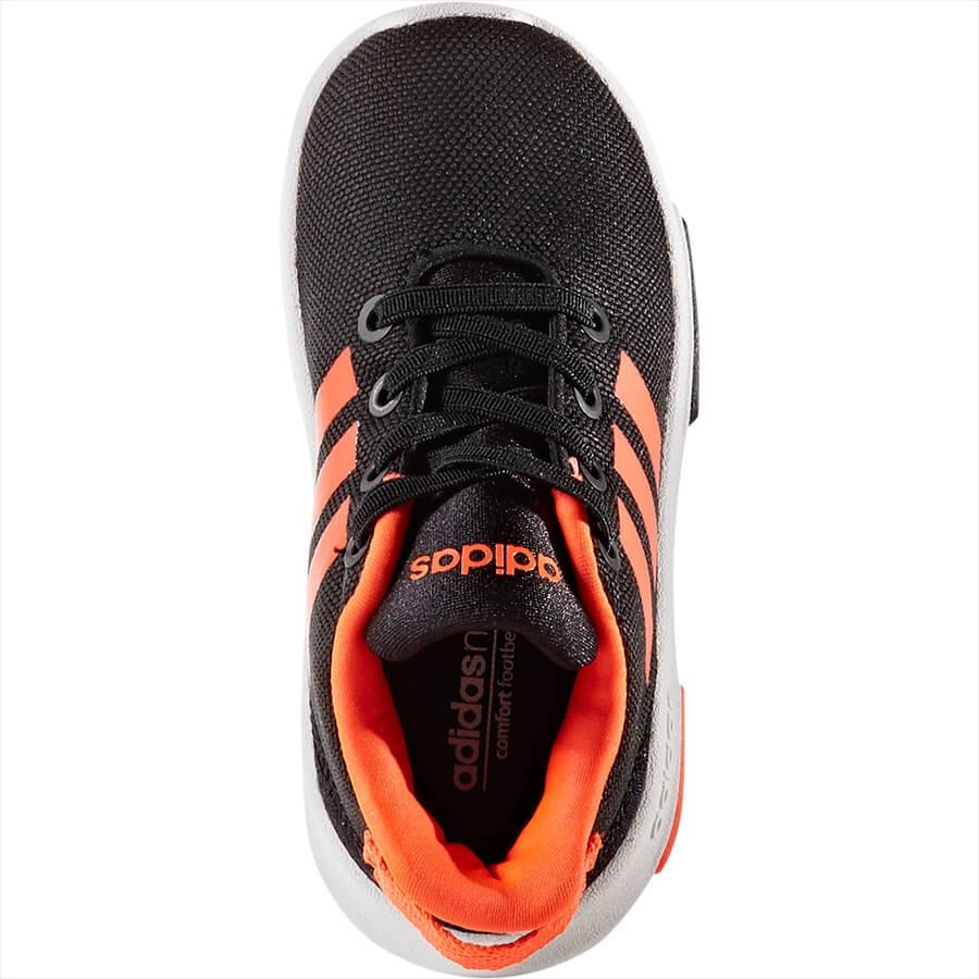 style ADIDAS scarpa bambino racer tr nerorosso aq1682