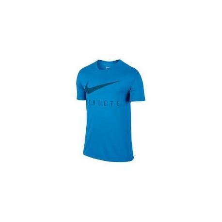 Nike T-shirt Mm Athlete Photo Blue