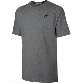 Nike T-Shirt Girocollo Tch Flc Grigio