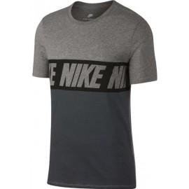 Nike T-Shirt Mm Scritta Nero
