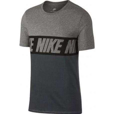 Nike T-Shirt Mm Unisex Scritta Nero