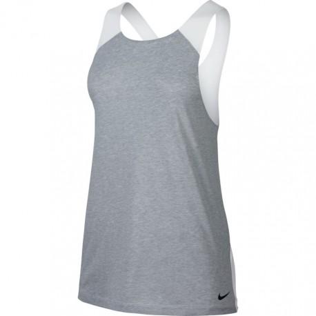 Nike Canotta Donna Loose Grigio