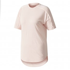 Adidas T-Shirt Zne 2 Wool Donna Rosa