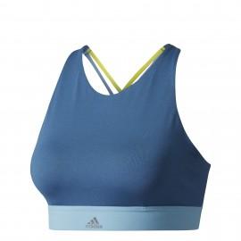 Adidas Halter Bra Donna Blu