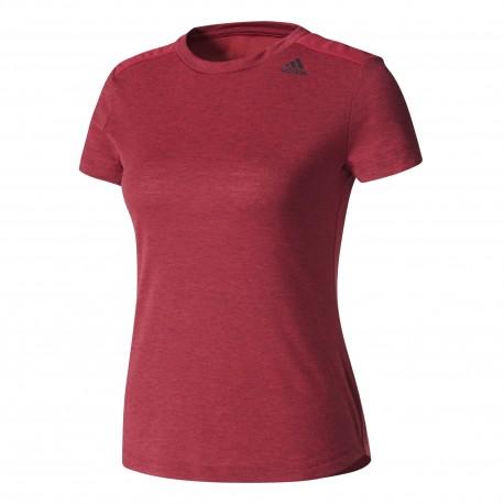 Adidas T-Shirt Prime  Donna Bordeaux