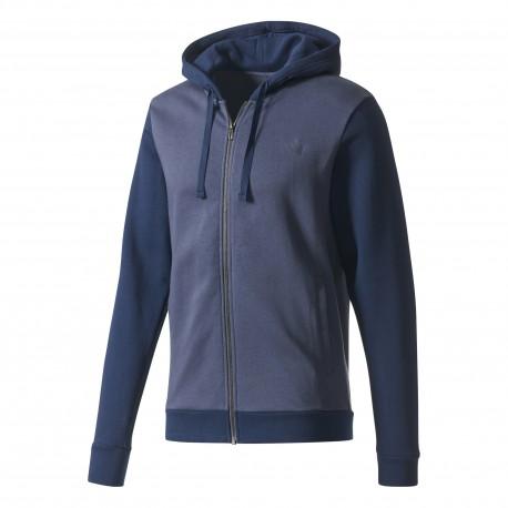 Adidas Tuta Con Cappuccio Blu