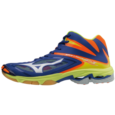 Mizuno  Wave Lightning Z3 Mid Blue/Orange